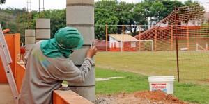 Departamento de Esportes e Estádio Municipal de Holambra ganham reforma