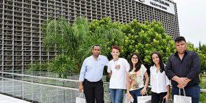 Vereadores jovens de Holambra visitam Assembleia Legislativa de São Paulo